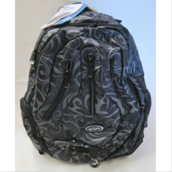 entire collection the best attitude official images Olympia Backpack Computer Laptop Bag Elite Model NWT